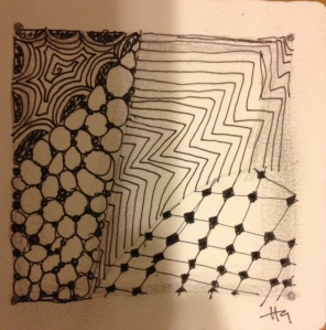 My first Zentangle!